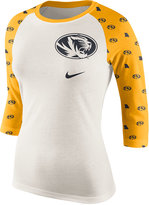 Nike Women's Missouri Tigers Triblend Veer Raglan T-Shirt