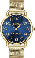 Coach 14502665 Delancey stainless steel watch
