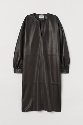 H&M Wide leather tunic