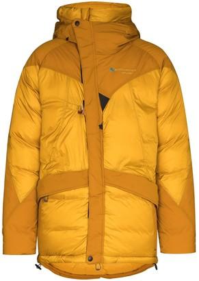 Klättermusen Panelled Hooded Padded Jacket
