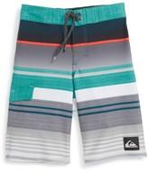 Quiksilver Toddler Boy's Everyday Stripe Board Shorts