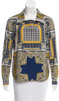 Love Moschino Paisley Print Collared Top