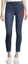 Velvet Heart Elsie Embroidered Skinny Jeans
