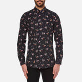 Paul Smith Men's Tailored Long Sleeve Shirt Black
