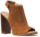 Michael Kors Maeve Suede Block Heel Slingback Sandals