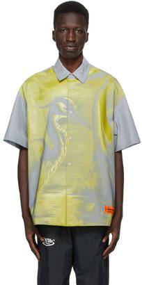 Heron Preston Silver Reflex Shirt