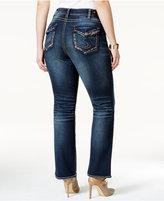 Silver Jeans Trendy Plus Size Suki Bootcut Jeans