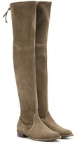 Stuart Weitzman Mytheresa.com Exclusive Lowland Suede Over-the-knee Boots