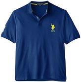 U.S. Polo Assn. Men's Big-Tall Solid Pique Polo Shirt
