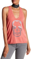 Zadig & Voltaire Alix Skull Graphic Knit Tank