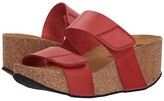 Eric Michael Lily (Red) Women's Sandals