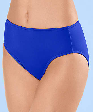Venus Women's Bikini Bottoms COB - Cobalt Blue Full-Coverage High-Waist Bikini Bottoms - Women & Plus