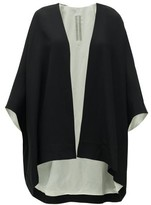 Rick Owens Wool-blend Crepe Jacket - Womens - Black Multi