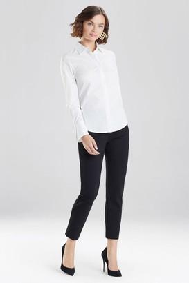 Natori Cotton Poplin Shirt