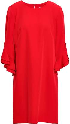 Milly Fernanda Ruffle-trimmed Cady Mini Dress