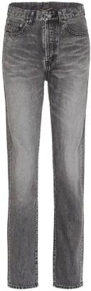 Saint Laurent High-rise slim-leg jeans