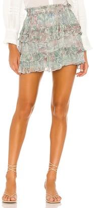 LoveShackFancy Benicia Skirt