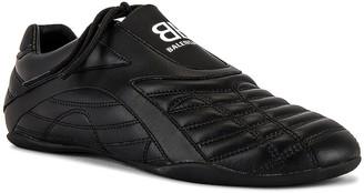 Balenciaga Zen Sneaker in Full Black & White | FWRD