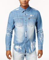 Sean John Men's Denim Shirt, Created for Macy's