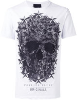 Philipp Plein skull print T-shirt - men - Cotton - L