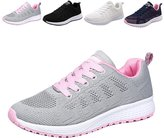 Gloria JR Womens Walking Hiking Sneakers Sports Tennis Shoes Breathable Athletic Running Shoes Lace Up Sneaker Sport Fitness for Women/Girl/Lady