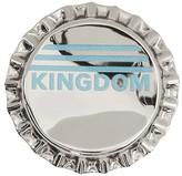 Burberry kingdom bottle cap brooch