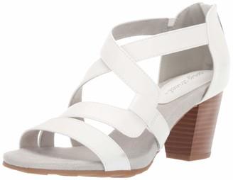 Easy Street Shoes Women's Amuse Dress Casual Sandal with Back Zipper Sandal