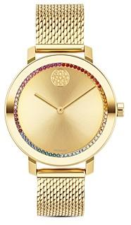 Movado Bold Mesh Bracelet Watch, 34mm