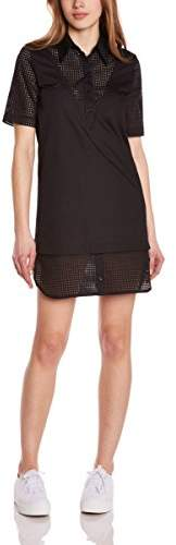 American Retro Women's Shirt Plain or unicolor Short sleeve Dress