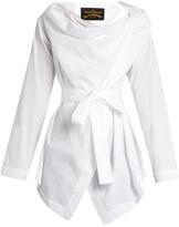 Vivienne Westwood Square cotton-poplin blouse