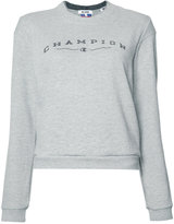 RE/DONE Reconstructed Champion Sweater - women - cotton/Polyester - XS/S