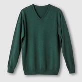 CASTALUNA FOR MEN Cotton V-Neck Jumper