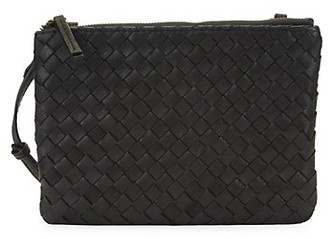 American Leather Co. Liberty Woven Leather Pouch Mini Bag