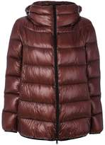 Herno zip up puffer jacket