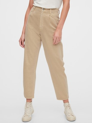 Gap High Rise Barrel Jeans