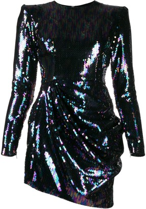 Alex Perry Iris sequin mini dress