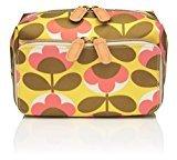 Orla Kiely Oval Flower Wash Bag, Medium by