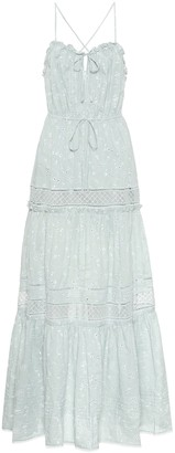 Jonathan Simkhai Cotton eyelet-lace maxi dress