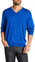 Peter Millar Collegiate Merino Wool V-Neck Sweater