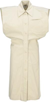 Bottega Veneta Technical Toile Shirt Dress