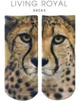LIVING ROYAL Cheetah Ankle Socks