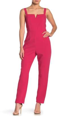 Do & Be Do + Be Square Neck Straight Leg Jumpsuit