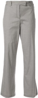 A.P.C. Cece checked cropped trousers