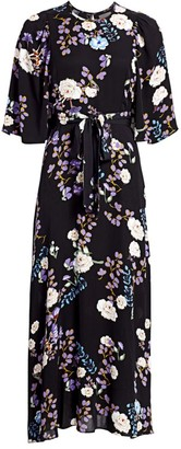By Ti Mo Desire Iris Floral Gown