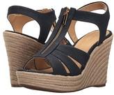 MICHAEL Michael Kors Berkley Wedge (Navy) Women's Wedge Shoes