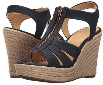 MICHAEL Michael Kors Berkley Wedge (Navy) Women's Wedge Shoes