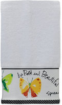 "Creative Bath Flutterby 11"" x 18"" Fingertip Towel"