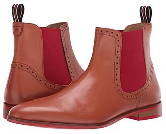 Carlos by Carlos Santana Mantra Chelsea Boot (Black Calfskin Suede) Men's Shoes