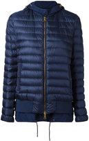 Moncler layered padded jacket