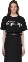 Gucci Black Orgasmique T-Shirt